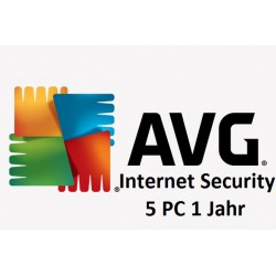 AVG Internet Security 5 PC 1 Jahr