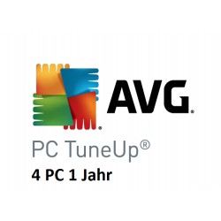 AVG Pc Tune up 4 PC 1 Jahr