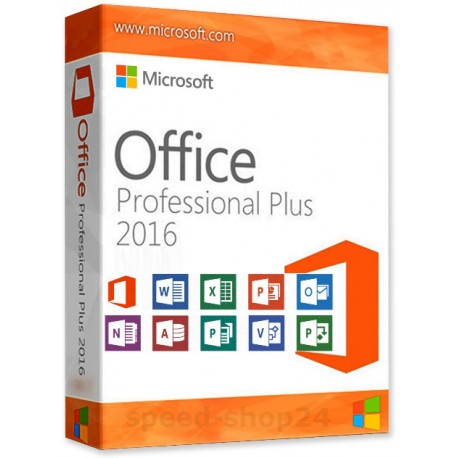 MS Office Professional Plus 2016 (Deutsch)