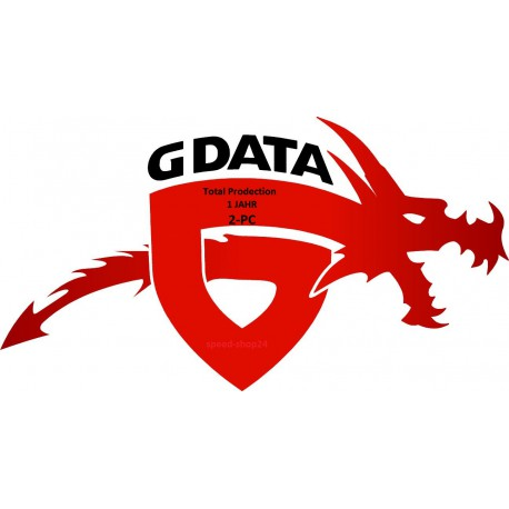 G-Data TotalProtection 2016 1 Jahr 2 PC