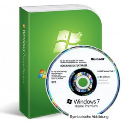 MS Windows 7 Home Premium 32-Bit MAR - Deutsch