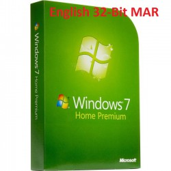 MS Windows 7 Home Premium 32-Bit SP1 MAR Refurbished ENGLISCH
