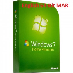 MS Windows 7 Home Premium 64-Bit SP1 MAR Refurbished ENGLISCH