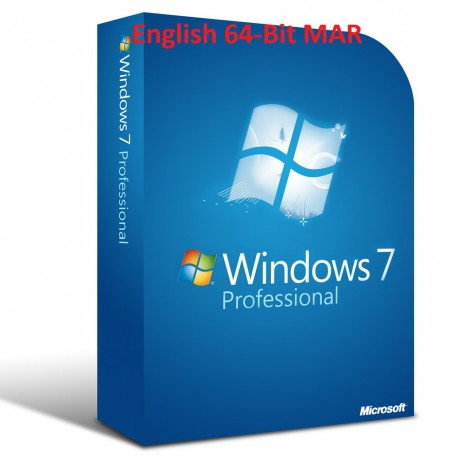 MS Windows 7 Professional Refurbished MAR ENGLISCH 64-Bit
