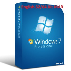 MS Windows 7 Professional Refurbished MAR ENGLISCH 32/64-Bit